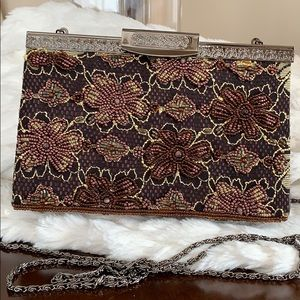 Viola Purse Collection Evening Beaded Clutch